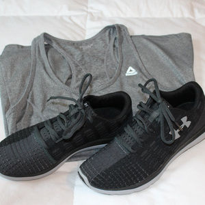 New Under Armour slingflex running shoes 10